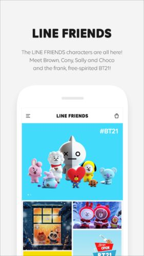 LINEFRIENDS–キャラクター/壁紙/GIF画像