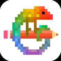 Pixel Art – 数字で塗り絵スケッチブック