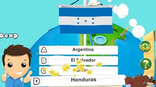 地理ゲームクイズ3D