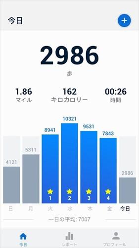 歩数計–無料のステップカウンター&カロリー計算