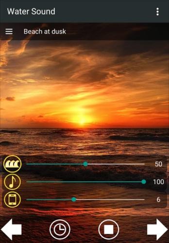 水の音~快適な睡眠のために~癒やしの睡眠アプリ