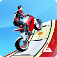 GravityRider:スタント系バイクゲーム–最高の3Dトラックレースゲーム