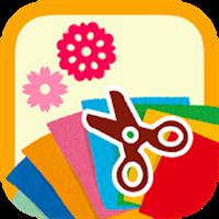 折り紙ちょきちょき 切り紙で子供から大人まで楽しめるアプリ