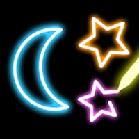 ネオン点滅お絵かき–点滅するお絵描きアプリ
