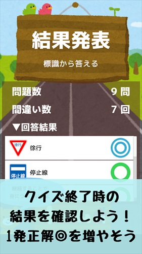 道路標識マスター:道路標識をおぼえよう。運転免許取得の学習に!すぐ出来るクイズでちょこっと復習しよう