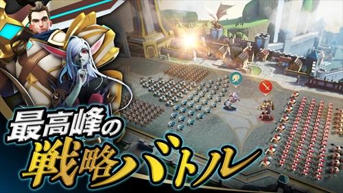 モバイルロワイヤルMMORPG–ファンタジーキングダムのバトル戦略