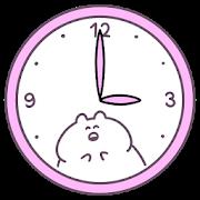 ウサギさん時計 かわいいアナログ時計ウィジェット