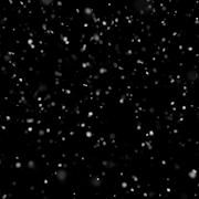 本当の雪 アニメーション壁紙