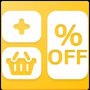買い物計算機 – 軽減税率対応! 消費税 / 割引 / 値引 / 履歴(メモ)に対応の無料アプリ