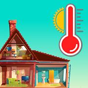 室内外の温度計