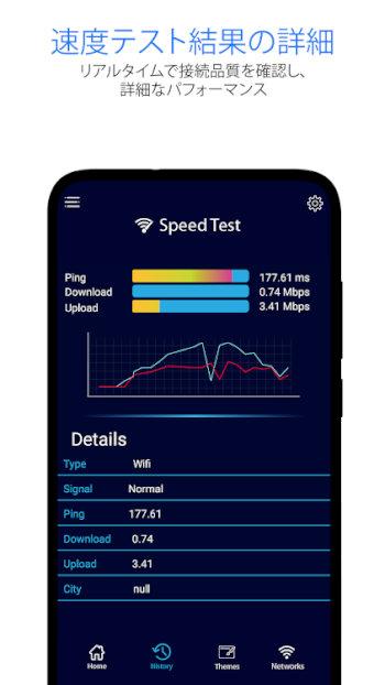 スピードテストメーター–WI-FIカバレッジ&速度テスト