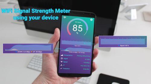 WiFi信号強度メーター