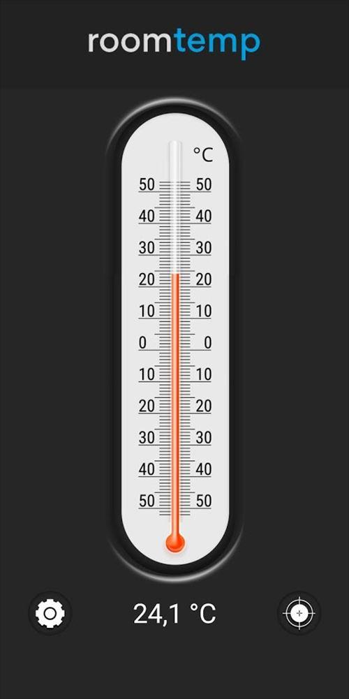 室内温度計-室内温度