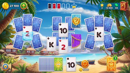ソリティアクルーズ:クラシックトライピークスカードゲーム