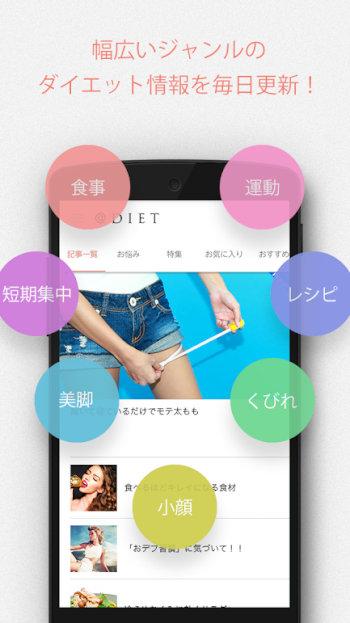 無料ダイエットアプリ13