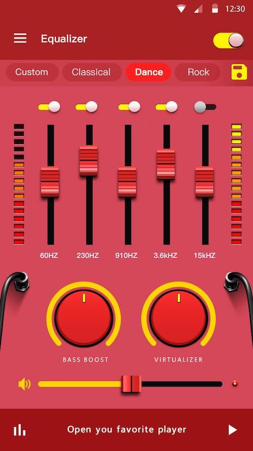 イコライザー–ベースブースター&ボリュームブースター