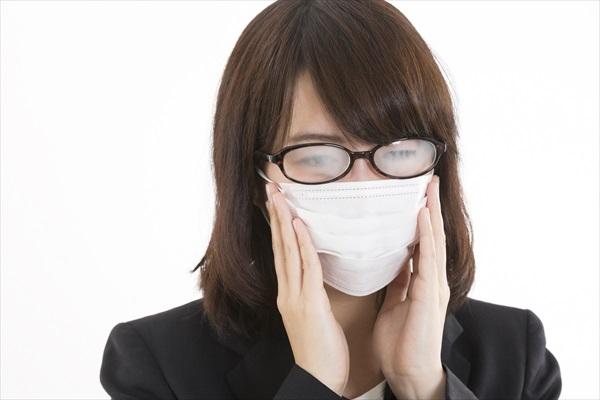 警視庁考案!マスクでメガネが曇らない方法