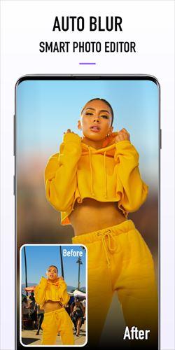 BlurPhotoBackground–デジタル一眼レフカメラの写真のぼかし
