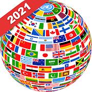 大陸と国の情報 – 世界地図