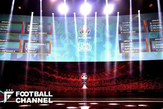 "EURO2020はイングランド代表が優勝候補筆頭!? ""死の組""回避で評価上昇"