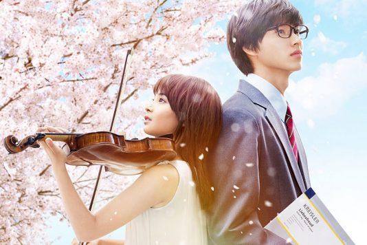 広瀬すずと山崎賢人のアンサンブルは青春の音色「四月は君の嘘」(2016)