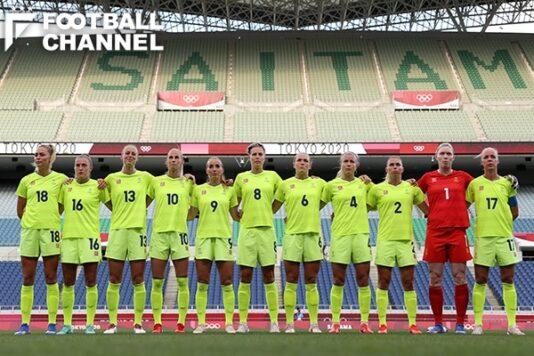 スウェーデン女子代表、最新FIFAランキングは? 今夜なでしこジャパンが対戦、米国を倒した国の実力は…【東京五輪女子サッカー】