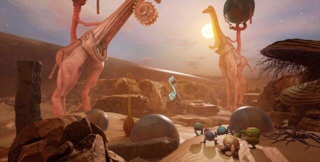 突然変異した生物が住む不思議な世界が舞台のサバイバルADV『The Eternal Cylinder』9月30日発売