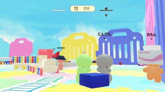 いい年したおとなでも3歳児みたいにあそべるよ!オンライン対戦泥棒バトル『ドロボー幼稚園』Steamストアページ公開