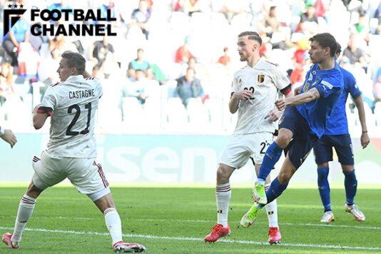 美しすぎる…。 イタリア代表背番号8の華麗なゴールがすごい! 右足を振り抜いた一撃は…【動画付き】